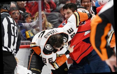 Brawl Breaks Out at Capitals vs. Ducks Game — and Player Ejected for Spitting on Opponent