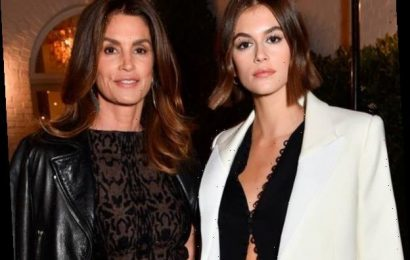 Cindy Crawford and Kaia Gerber Are Twinning at Beverly Hills Gala