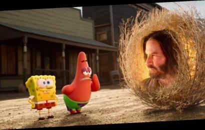 'The SpongeBob Movie: Sponge on the Run' Trailer: SpongeBob Gets Sage Advice from Keanu Reeves