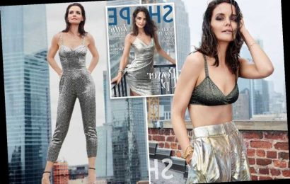 Actress Katie Holmes chills in the city — by wearing just a bra and trousers – The Sun