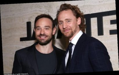 Tom Hiddleston Trades Marvel Characters With Charlie Cox for Halloween
