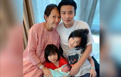 Hong Kong actress Ada Choi and Chinese actor Max Zhang welcome newborn son