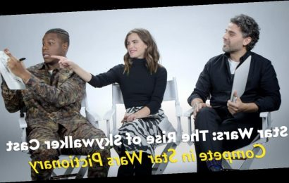 We Had the Star Wars Cast Compete in Pictionary, and I Want to Frame Oscar Isaac's Chewie Masterpiece