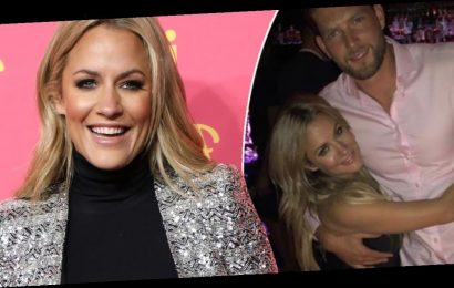 Caroline Flack's boyfriend shares another loved-up snap as Love Island bosses 'gear up' to announce replacement