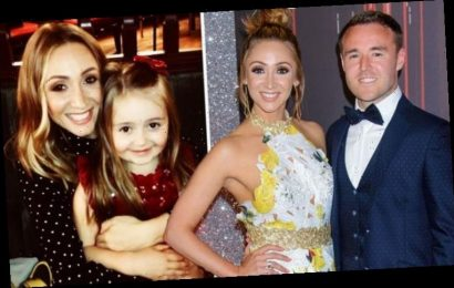 Alan Halsall: Coronation Street star's ex Lucy-Jo Hudson on 'difficulties' co-parenting