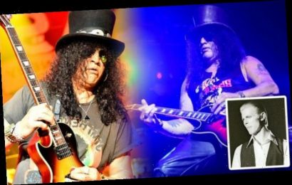 Slash: How Guns N' Roses star walked in on his mum with David Bowie 'I caught them naked'