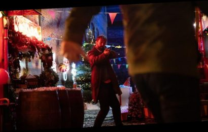 First pictures of Corries's bloody Christmas siege show character in firing line