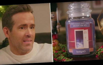 """Ward Off Lingering Guests With Ryan Reynolds's """"Get the F*ck Out of My House"""" Candle"""