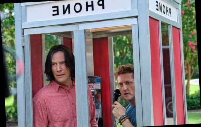 Keanu Reeves, Alex Winter Return to Trusty Phone Booth in First 'Bill & Ted 3' Photos