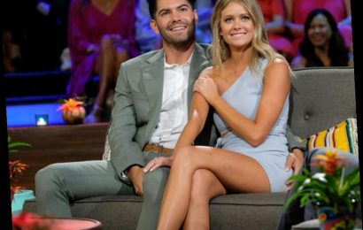 Hannah Godwin and Dylan Barbour Share The Disgusting Thing That Happened To Them During The 'Bachelor In Paradise' Finale
