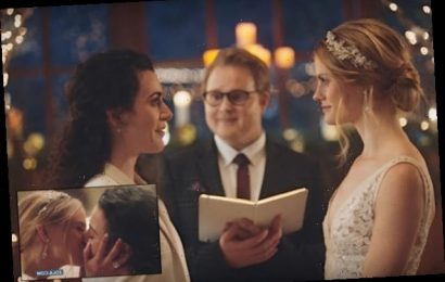Hallmark Channel Pulls Ads With 2 Brides Kissing After Call for Boycott