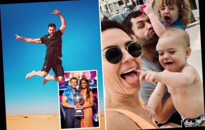Inside Strictly winner's Kelvin Fletcher's luxury holiday in Dubai with water parks, sunbathing and family time