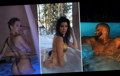 Steamy Stars In Hot Tubs … Turn Up The Heat!