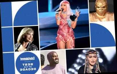 Best of 2010s: Decade's weirdest pop star moments
