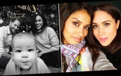 Meghan Markle's Friend, Janina Gavankar, Hits Back at Sussex Christmas Card Photoshop Claims