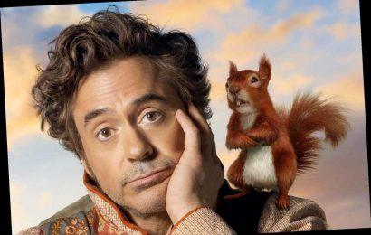 'Dolittle' star Robert Downey Jr. 'auditions' fuzzy friends