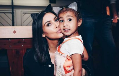 Kim Kardashian Gushes Over 'Helpful' Daughter North: 'How Are My Babies Getting So Big?'