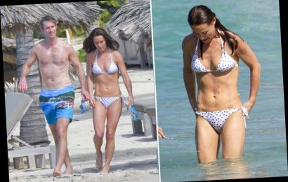 Pippa Middleton flaunts fit body on family vacation in St. Barts
