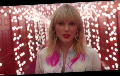 Taylor Swift releases new song Christmas Tree Farm with home video montage
