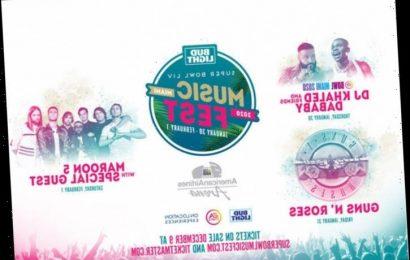 Guns N' Roses, Maroon 5, DJ Khaled To Play Bud Light Super Bowl Fest