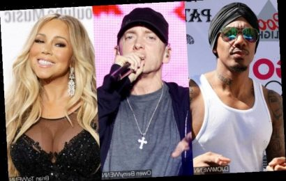 Nick Cannon Says He'll Beat 'Old' Eminem for Dissing Him and Mariah Carey on New Song