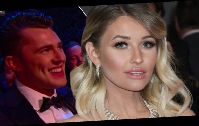 Love Island's Amy Hart reacts to 'mortifying' Curtis Prichard row being replayed at the NTAs