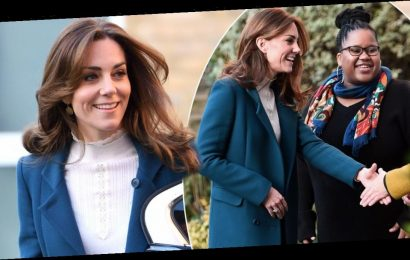 Kate Middleton surprises parents on the school run as she visits nursery breakfast club