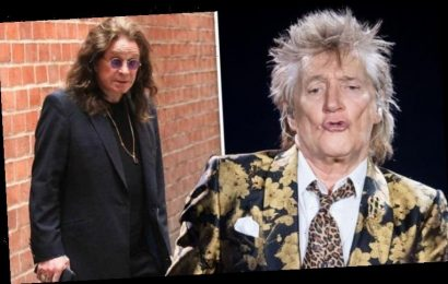 Rod Stewart sends message to Ozzy Osbourne after Parkinson's news 'Rotten luck mate'