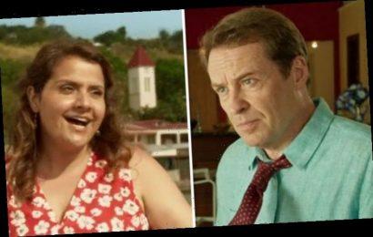Death in Paradise's Jack Mooney heartbroken as Nina Wadia teases difficult romance