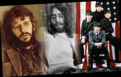 John Lennon: The Beatles star's last ever pic with Ringo Starr THREE WEEKS before he died