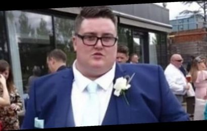 Man, 27, 'too fat' to be best man at sister's wedding sheds whopping 16st