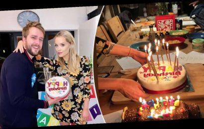 Inside Laura Whitmore's incredible surprise birthday party for Iain Stirling