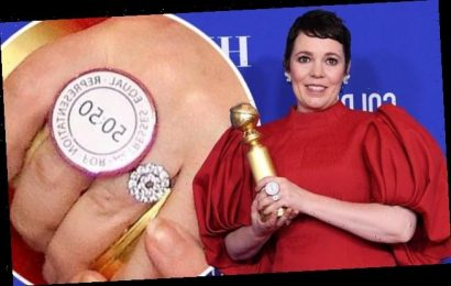 Olivia Colman wears equality ring for equal representation on screen