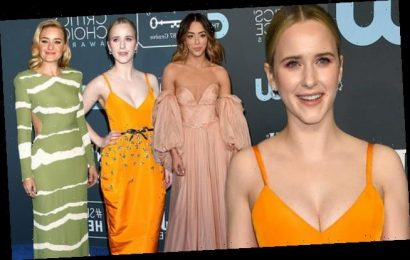 Rachel Brosnahan leads the worst dressed at the Critics' Choice Awards