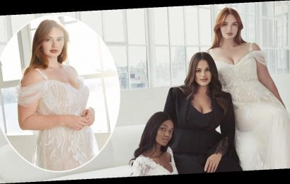 Ashley Graham launches plus-size wedding dress collection – and it's simply amazing