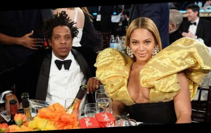 Surprise! Beyonce and Jay-Z Attend the Golden Globes