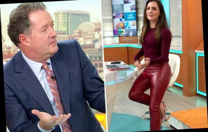 Piers Morgan accused of sexism as he 'humiliates' weather girl Laura Tobin for wearing 'sexy skintight trousers' on GMB – The Sun