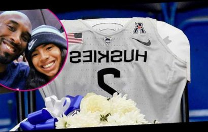 Gianna Bryant Honored With a Jersey From UConn Women's Basketball Team