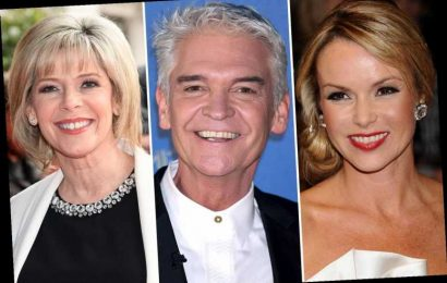 Phillip Schofield will face ITV 'civil war' at the NTAs as he comes face-to-face with Amanda Holden and Ruth Langsford – The Sun