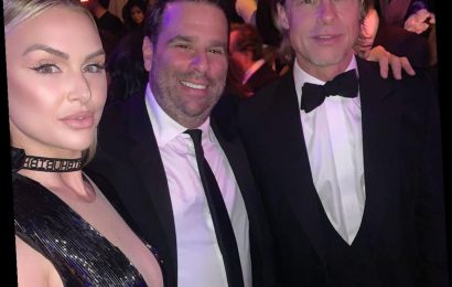 Not at SUR Anymore! Lala Kent, Randall Emmett Pose With Brad Pitt at Party