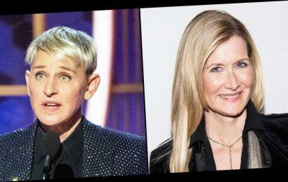 Why Lauren Dern Cried During Ellen DeGeneres' Golden Globes Speech