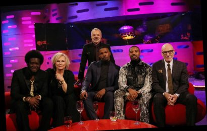 Who is on The Graham Norton Show tonight? Guests include Sir Patrick Stewart and Jamie Foxx