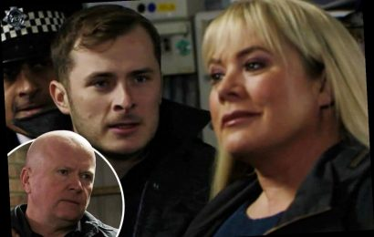EastEnders' shock as Phil and Ben Mitchell arrested for murdering Keanu – The Sun