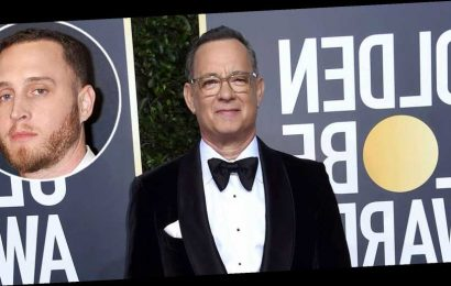 Tom Hanks' Son Chet Confuses at Golden Globes With Fake Accent