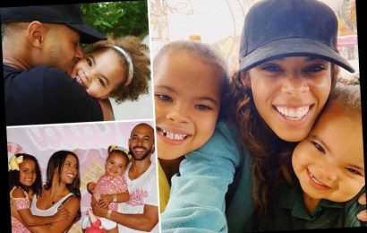 Rochelle and Marvin Humes put first EVER pictures of daughters Alaia and Valentina on Instagram after social media ban – The Sun