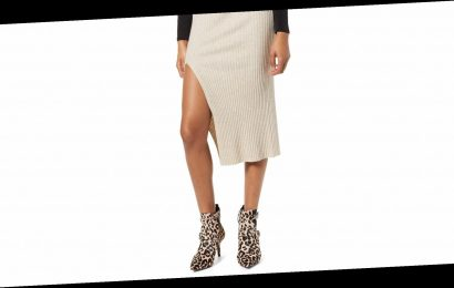 This Knit Skirt Is Key for Staying On Trend in the Cold