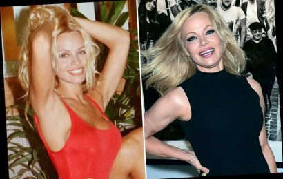 Pamela Anderson, 52, recreates iconic 'Baywatch' run in new ad