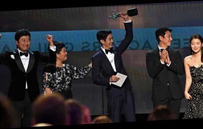 Parasite Makes History at the SAG Awards