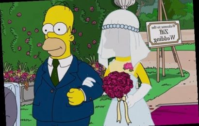 Simpsons Sneak Peek: Why Is Homer Walking [Spoiler] Down the Aisle?
