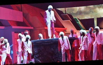 Tyler, The Creator Slays Performance Of 'EARFQUAKE' & 'New Magic Wand' At Grammys